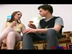 cum inside russian muff