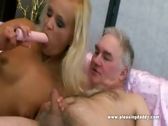 juvenile doxy pleases her sugardaddy with her
