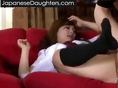 obscene dad and japanese daughter...