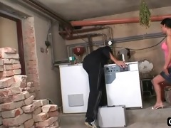 sexy nubile screwed in a basement