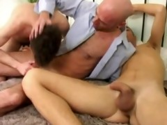 aged males and their slut lad