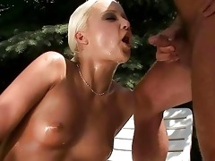 granddad and sexy gal pissing and fucking