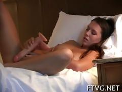 bitch masturbating well
