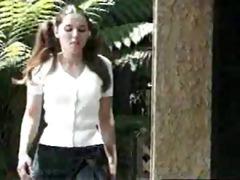 recent bicycle - bicicleta nueva (schoolgirl